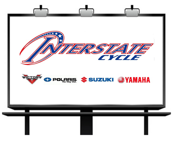Interstate Cycle Billboard